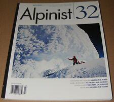 Alpinist magazine #32 Autumn 2010 Mountaineering Climbing