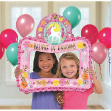 MAGICAL UNICORN INFLATABLE FRAME ~ Birthday Party Supplies Favor Gift Decoration