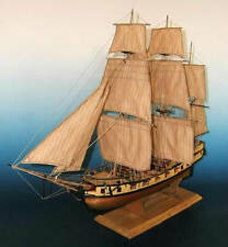 "Beautiful, sophisticated wooden model ship kit by Soclaine: ""Le Tonnant"""