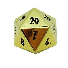 Dead Man's Gold Metal Countdown Dice 25mm - Norse Text