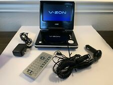"""New listing Coby Portable Dvd Player (7"""") Tfdvd7006 Used With Remote and Ac/Car Adapters"""