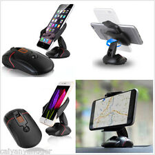 360° Universal Car Dashboard Cell Phone GPS Mount Holder Stand Cradle Consoles