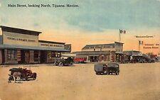 Postcard Main Street looking North in Tijuana, Mexico~113359