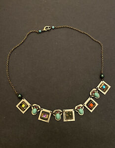 Vintage Artisan Signed Ayala Bar Beautiful Necklace