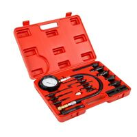 PK TOOL 3 PIECE UNIQUE COMPRESSION TESTER KIT 63mm DIA GAUGE FOR EASY READING