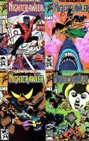 Nightcrawler Set Dave Cockrum Paty Cockrum Uncanny X-Men 1 2 3 4 1985 NM