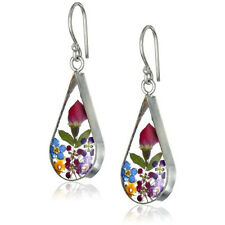 Pretty Rose 925 Silver Drop Earrings for Women Jewelry A Pair/set Gift
