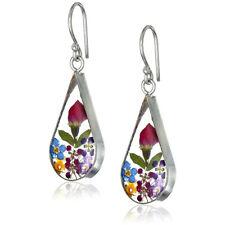 Красивая роза 925 серебро капля серьги для женский ювелирных изделий пара/набор подарок
