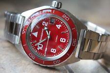 Vostok Komandirsky Auto Russian Military Wrist Watch # 650841 NEW
