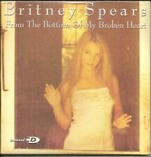 BRITNEY SPEARS From Bottom EDIT & Crazy MIX & 2 VIDEO CARD USA CD Single SEALED