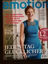 Emotion Zeitschriften Magazin 4 x *neuwertig* Porto: 2 x ?2,20