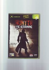 HUNTER THE RECKONING - XBOX GAME / 360 & ONE COMPATIBLE - ORIGINAL & COMPLETE
