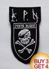 PESTE NOIRE SW PATCH BUY3GET4,ALCEST,SATANIC WARMASTER,FRENCH BLACK METAL,HORNA