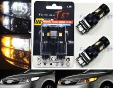 LED Switchback Light 3030 White Amber Orange 4157 Two Bulb Front Turn Signal Fit