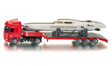 SUPER SIKU 3936 Mercedes Benz Actros Low Loader Truck SeaRex Power Boat 1:50