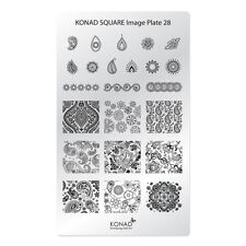 Konad Stamping Nail Art Square Image Plate 28