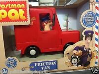 Postman Pat friction van articulated Pat and Jess figure Age 3+