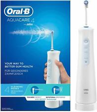 Oral-B Aquacare 4 Water Flosser Cordless Irrigator, Featuring Oxyjet Technology