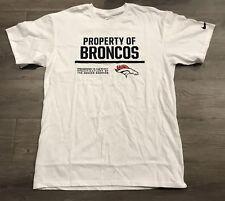 "a3a448e9861 Denver Broncos Nike ""The Nike Tee"" T-Shirt Size Small Brand New!"