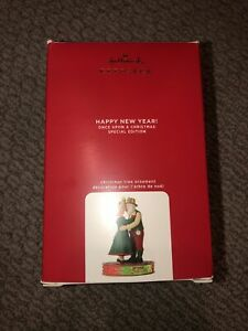 Hallmark Keepsake Ornament 2020 ~ Happy New Year Once Upon a Christmas Special