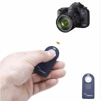 IR Wireless Remote Control for Canon 60D 400D 450D 550D 600D Rebel XTi XSi T1i