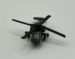 Micro Machines LGTI 1992 Galoob Bell AH-64A Apache Attack Helicopter Brown
