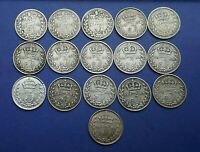 Victoria Silver Threepence - 1837 - 1901 Choose your date or grade