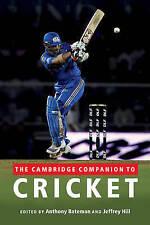The Cambridge Companion to Cricket,,New Book mon0000028180