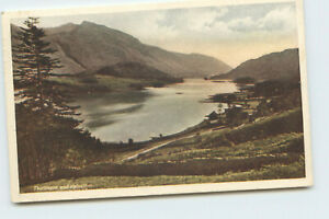 Postcard Thirlmere and Helvellyn Printed Posted IK