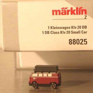 Märklin Z:   88025   DB  Kleinwagen Klv 20  Neuware