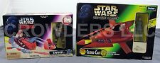 Star Wars Shadows of Empire Swoop & Expanded Universe Cloud Car Kenner 96-97 NIP