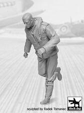 Black Dog 1/32 British Raf Fighter Pilot #3 1940-1945 Wwii Running F32043