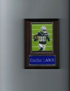 CeeDee LAMB PLAQUE DALLAS COWBOYS FOOTBALL NFL