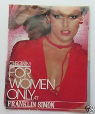 Catalog For Franklin Simon Christmas Catalog For Woman Only 1976 Fashions