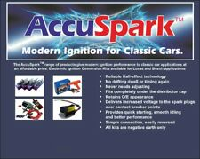 AccuSpark 8mm Silicona Cables HT EN ROJO for 6 CILINDRO coches 90 Grados