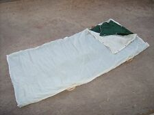 Italian army surplus 1960s era Alpine troop mountain sleeping bag and stretcher