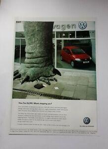 Volkswagen Fox Advert from 2006 - Original Ad Advertisement