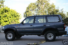 TOYOTA LAND CRUISERS 80 SERIES TOUGH PLASTIC FLARES / JUNGLE FLARES GUARD