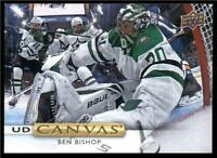 2019-20 Upper Deck UD Canvas #C67 Ben Bishop - Dallas Stars