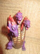 ELC TOWER OF DOOM Mythique Monstre Fantasy Castle Figure Toy 3 Headed Dragon