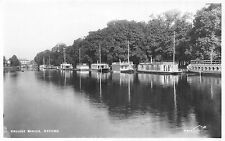 POSTCARD   OXON  OXFORD  College  Barges