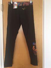 DESIGUAL Women's Fashion Knitted Legging Black Size L