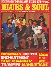 Hi Tension Blues & Soul Issue 254 1978  Enchantment Gene Chandler The Manhattans