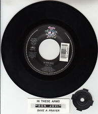 "BON JOVI  In These Arms & Save A Prayer 7"" 45 record NEW RARE! + jukebox strip"