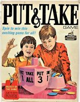 Put & Take Classic Game From Schaper Incomplete