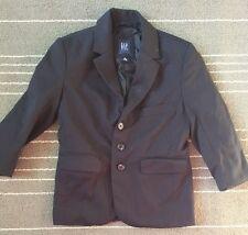 Boy's GapKids Navy Blue Blazer XS 4-5 Pre-owned 100% Wool