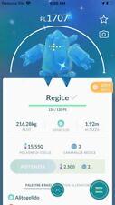 Pokemon Go Regice Shiny + 80K stardust in Account For Trade