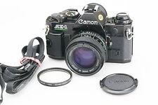 Canon AE 1 Program film camera with Canon FD 50 F1.4 lens