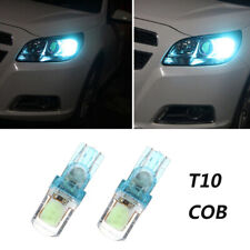 T10 194 W5W COB LED Car Super Bright Silica License Plate Light Ice Blue Bulbs