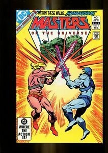 MASTERS OF THE UNIVERSE 3 (9.8) LAST ISSUE DC (b014)